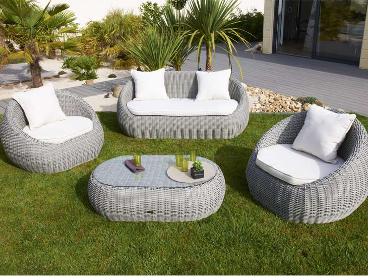 Beautiful Mobilier De Jardin Rotin Gallery - Home Design Ideas ...